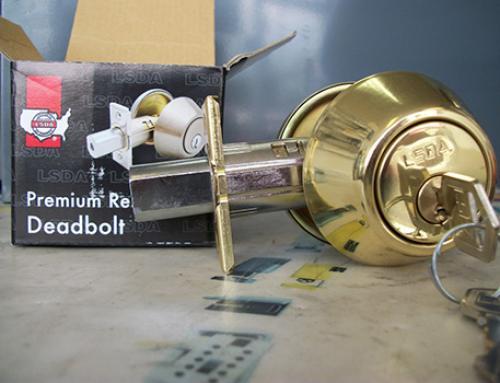 LSDA Residential Cylinder Deadbolt