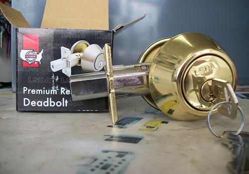 LSDA DDeadbolt with box - Reviewed by Alpha Locksmith