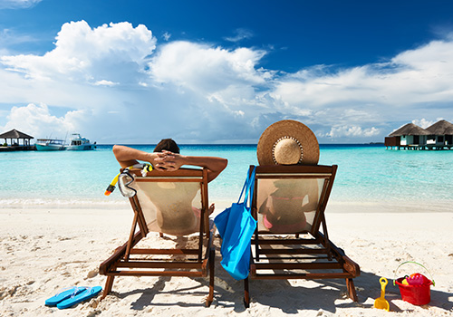 People on beach - Tips by Alpha Locksmith on Summer Security
